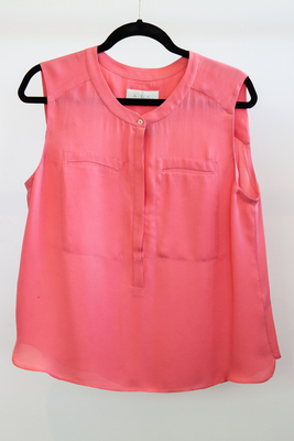 ALC Sleeveless Silk Blouse